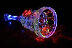 Glass Klocka Arkivfoto
