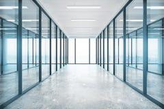 Glass kontor Royaltyfri Bild