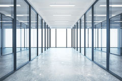 Glass kontor Arkivbilder