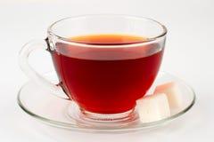 Glass kopp av tea Arkivbild