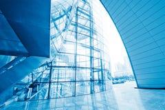 glass korridor arkivfoto
