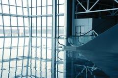 glass korridor arkivbilder