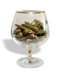 glass kulor Arkivbild