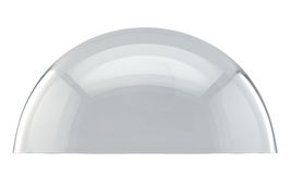 Glass kupol Fotografering för Bildbyråer
