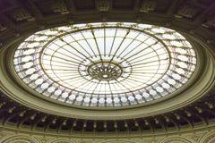 Glass kupol Arkivbilder
