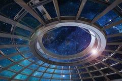 Glass kupol Royaltyfri Foto