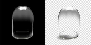 Glass kupol Arkivfoton