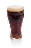 Glass of kvass with froth Stock Photo