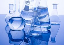 glass laboratorium Arkivbilder
