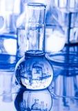 glass laboratorium Arkivfoto