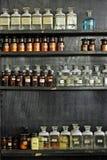 glass laboratorium royaltyfri fotografi