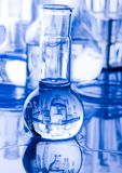 Glass in laboratory Stock Photo