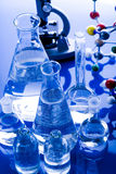 Glass in laboratory Stock Photography