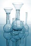 Glass laboratory equipment Stock Photos