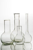 Glass laboratory equipment Stock Photos