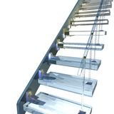 Glass ladder Stock Images