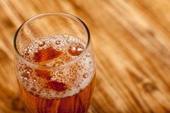 A glass of lager beer Stock Images