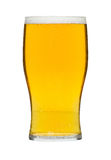 Glass of lager Royalty Free Stock Image