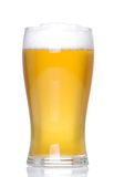 Glass of lager Stock Images