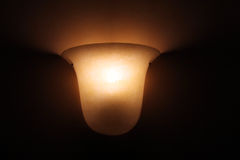 Glass lamp Royalty Free Stock Image
