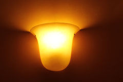 Glass lamp Stock Images