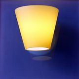 Glass lamp Royalty Free Stock Photos
