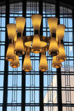 Glass lampor Arkivbild