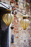 Glass lanterns in Venice Stock Photography