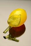 Glass lemon Stock Image