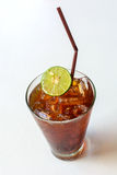 Glass of Lemon ice tea Royalty Free Stock Photography
