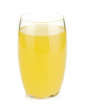 Glass of lemon juice Stock Images