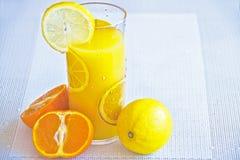 Glass of Lemon Juice Royalty Free Stock Photos