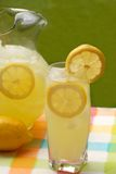 A glass of lemonade Royalty Free Stock Photography