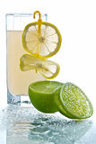 Glass of lemonade Stock Photography