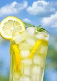 Glass with lemonade Royalty Free Stock Photos