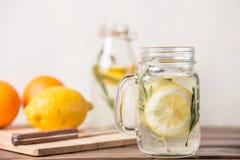 glass lemonade Royaltyfri Foto