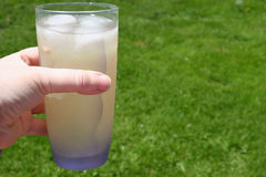 Glass of Lemonade Stock Images