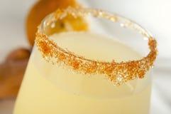 Glass of lemonade stock images