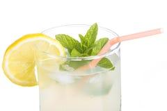 Glass of lemonade Stock Photos