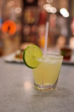 The glass of lemonade Royalty Free Stock Photography