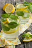 Glass of lemonade Royalty Free Stock Photos