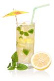 Glass of lemonade Stock Image