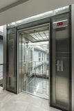 Glass lift Stock Image