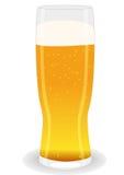 Glass light beer Stock Photo