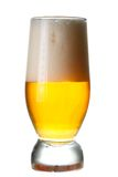A glass of light beer Stock Images