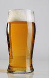 A glass of light beer. Royalty Free Stock Photos