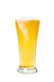 Glass of light beer Royalty Free Stock Image