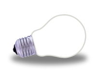 Glass light bulb Royalty Free Stock Photography