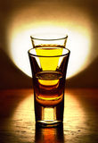 а glass of light Stock Photography