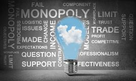 Effective business innovations for world. stock image